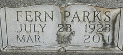 Hazel Fern Fern <i>Parks</i> Humphrey