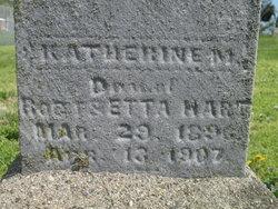 Katherine M Hart