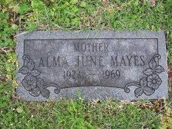 Alma June Mayes