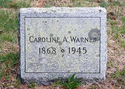 Caroline A <i>Corbin</i> Warner