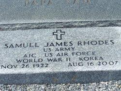 Samuel James Sammie J Rhodes