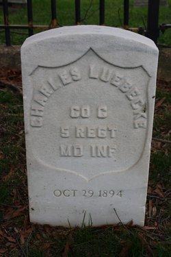 Pvt Charles Luebbecke