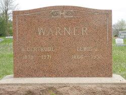Anna Gertrude <i>Stambaugh</i> Warner