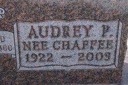 Audrey Pearl <i>Chaffee</i> Niss