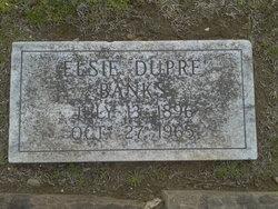 Elsie <i>Dupre</i> Banks