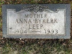 Anna <i>Van Dyk</i> Bykerk Leep