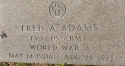 Fred A. Adams