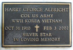Col Harry George Albright