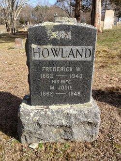 Frederick W Howland