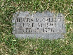 Hulda Mary <i>Thompson</i> Callen