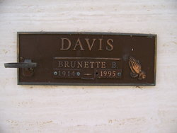 Brunette B Davis