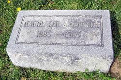 Maude Lee <i>Colvin</i> Anderson