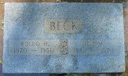 Ida May <i>Menzies</i> Beck