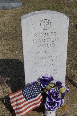 Sgt Robert Harold Wood