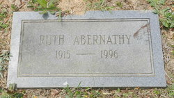 Ruth <i>Malker</i> Abernathy