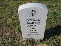 Donald Martin Burgett