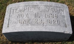 Tempie L. <i>Walker</i> Adair