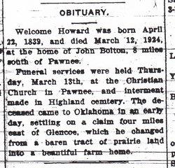 Welcome Howard