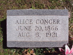 Alice <i>Andrews</i> Conger