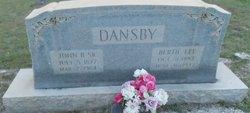 John Bishop Bish Dansby, Sr
