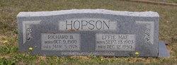 Effie Mae <i>Kelley</i> Hopson