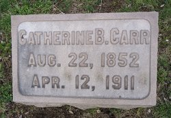 Catherine B Kate Carr