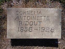 Cornelia Antoinette <i>Wells</i> Ridout