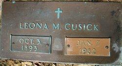 Leona May <i>Andrew</i> Cusick