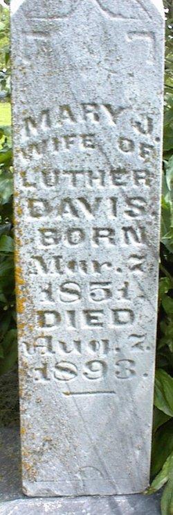 Mary Jane <i>Friend</i> Davis