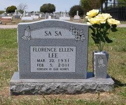 Florence Ellen Lee