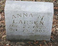 Anna M Larsen
