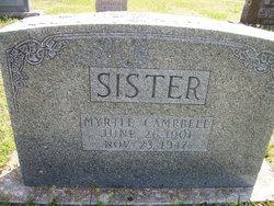 Myrtle N. <i>Tannehill</i> Campbell