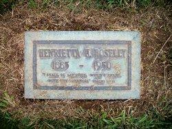 Henrietta Cameron <i>Henry</i> Boselly