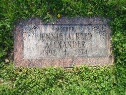 Jennie A <i>Reed</i> Alexander