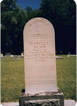 Isabella <i>Graham</i> Blain