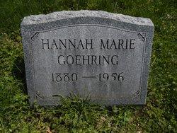 Hannah Marie Goehring