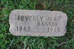Beverly Jean Barron