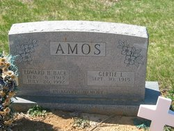 Gertie Louise <i>Powell</i> Amos
