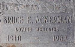 Bruce Ellsworth Ackerman