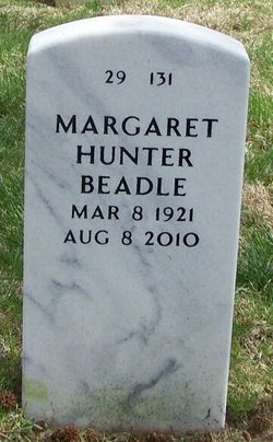 Margaret <i>Hunter</i> Beadle