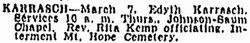 Edyth Jane <i>Parker</i> Karrasch
