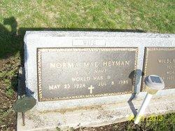 Norma Mae Heyman