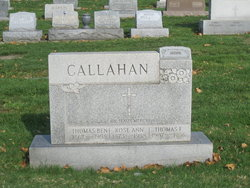 Rose Ann <i>Cummins</i> Callahan
