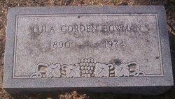 Lula <i>Gorden</i> Bowman