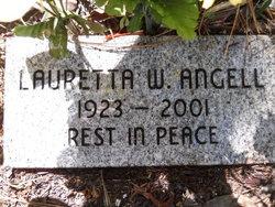 Lauretta W Angell