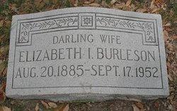 Elizabeth Irene <i>Loper</i> Burleson