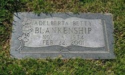 Adelberta Betty <i>Kuhn</i> Blankenship