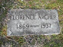 Florence <i>Mosley</i> Archer