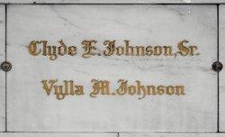 Clyde E Johnson, Sr