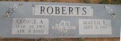 George Albert Roberts, Jr